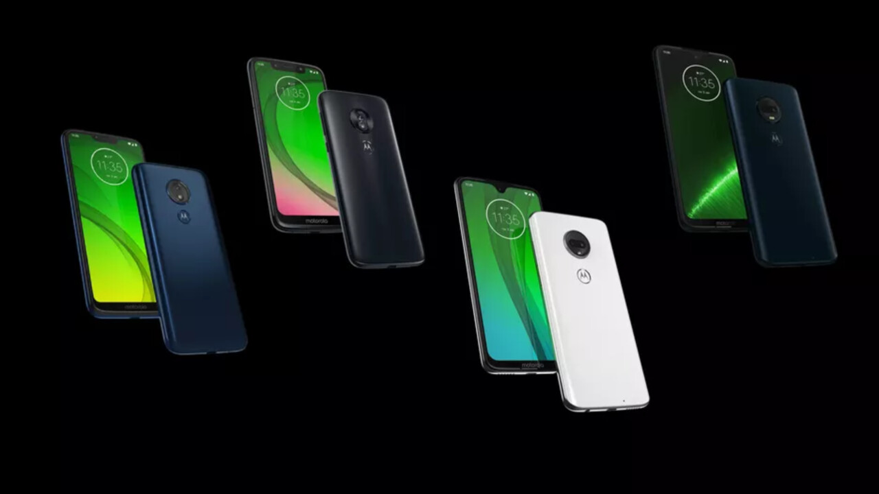 Moto G7: Motorola veröffentlicht technische Details vorab