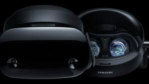 VR-Brille: Samsung entwickelt HMD mit gebogenem Display