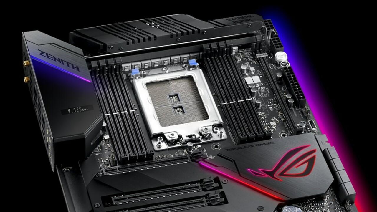 Asus ROG Zenith Extreme Alpha: Neuauflage der EATX-Platine kostet 623 Euro & kühlt besser