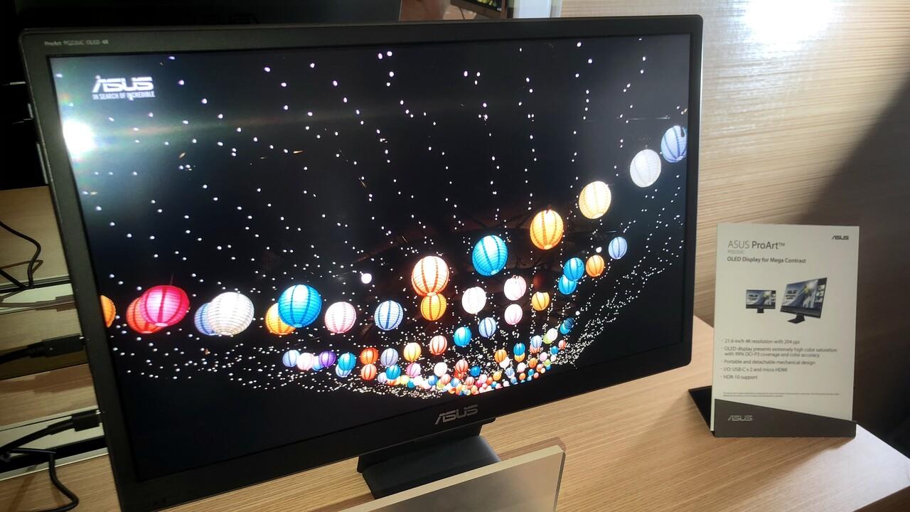 Asus ProArt PQ22UC: Tragbarer OLED-Monitor wird 5.000 Euro kosten