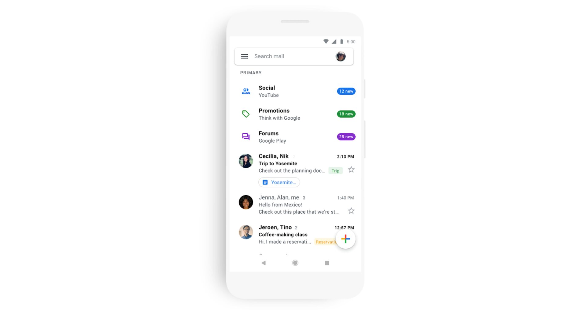 Gmail Kontakte