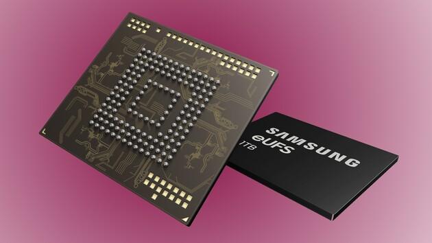 Samsung: UFS-Speicher mit 1 TB für Smartphones geht in Serie