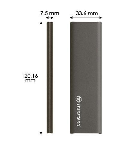 Transcend ESD250C Portable SSD