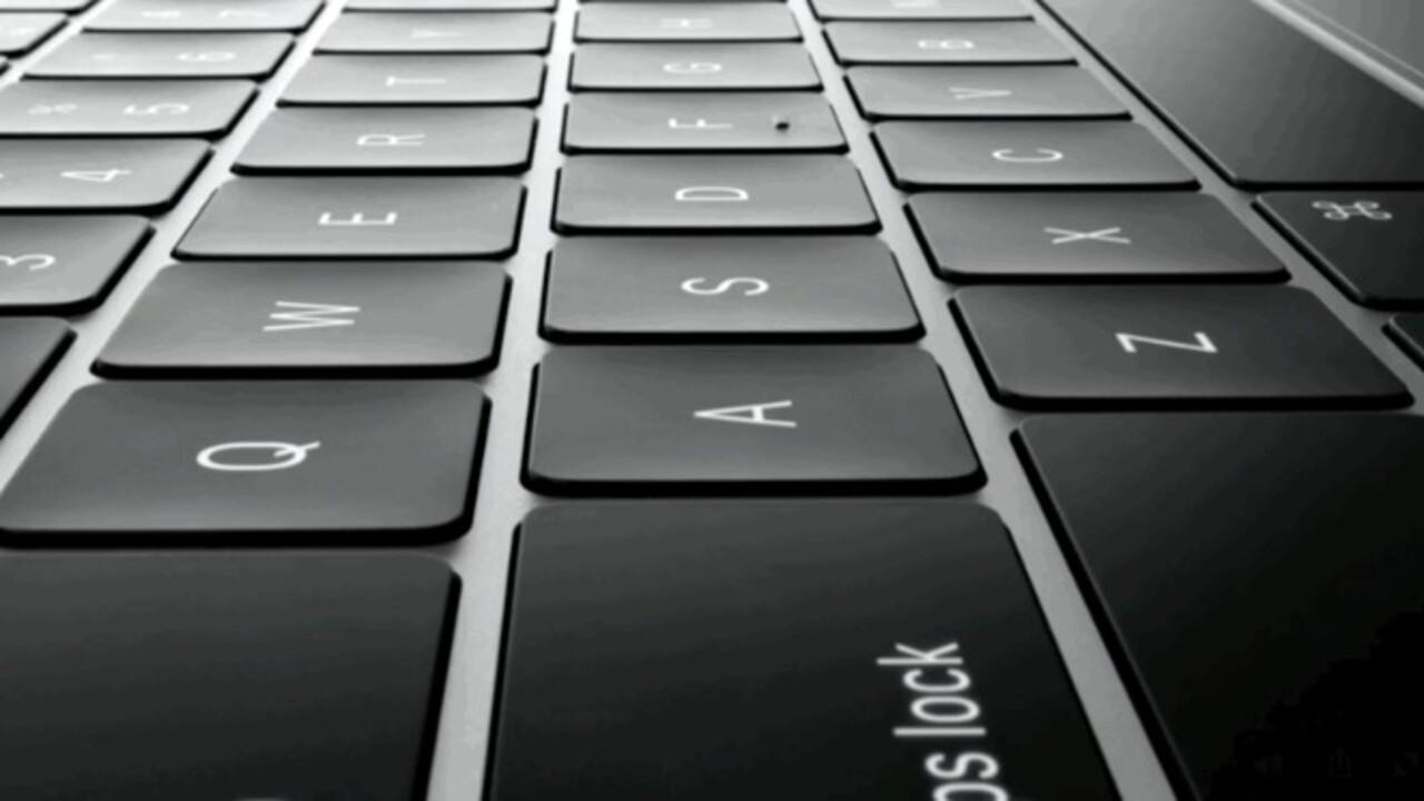 MacBook-Patent: Glasplatte und Displays statt Tasten für das Keyboard