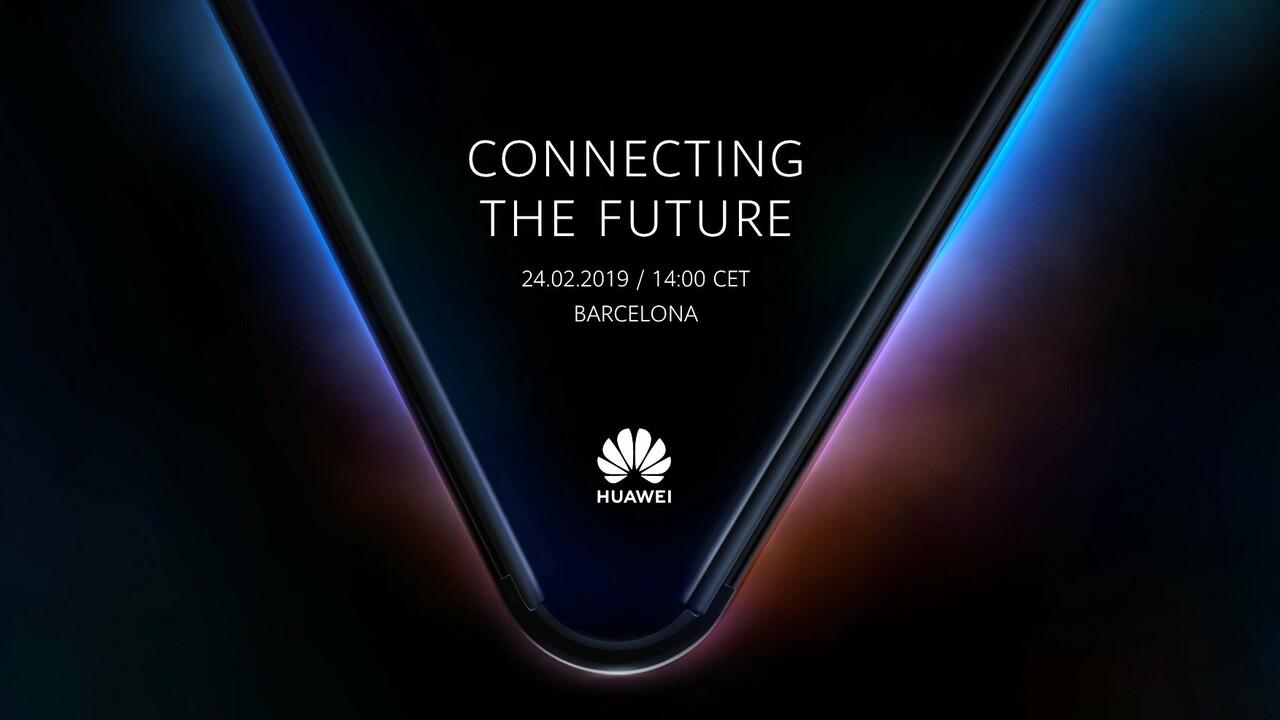 MWC 2019: Huawei will ein faltbares 5G-Smartphone zeigen