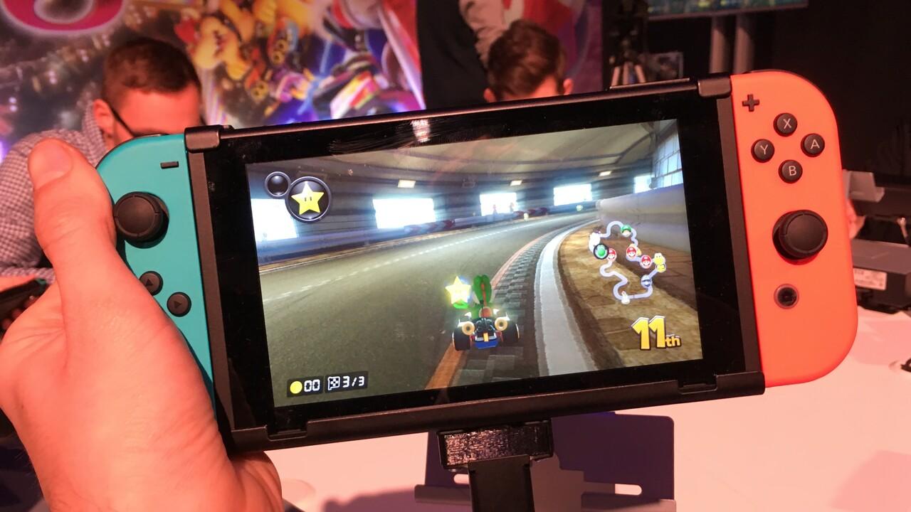 Nintendo Switch: Kleinere, günstigere Version soll dieses Jahr erscheinen