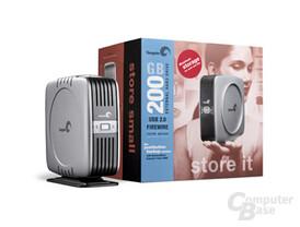 Externe 200 GB Festplatte