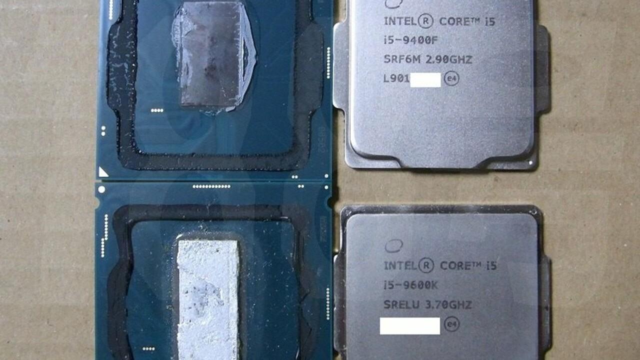 """Intel-Prozessoren: Kleine Coffee Lake Refresh setzen weiter auf """"Zahnpasta"""""""
