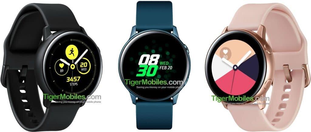 Galaxy Watch Sport in Schwarz, Petrol und Rosegold