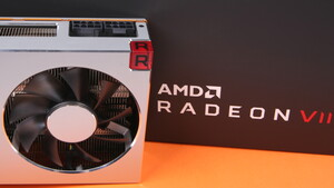AMD Radeon VII im Test: Zu laut, zu langsam und zu teuer, aber mit 16 GB HBM2
