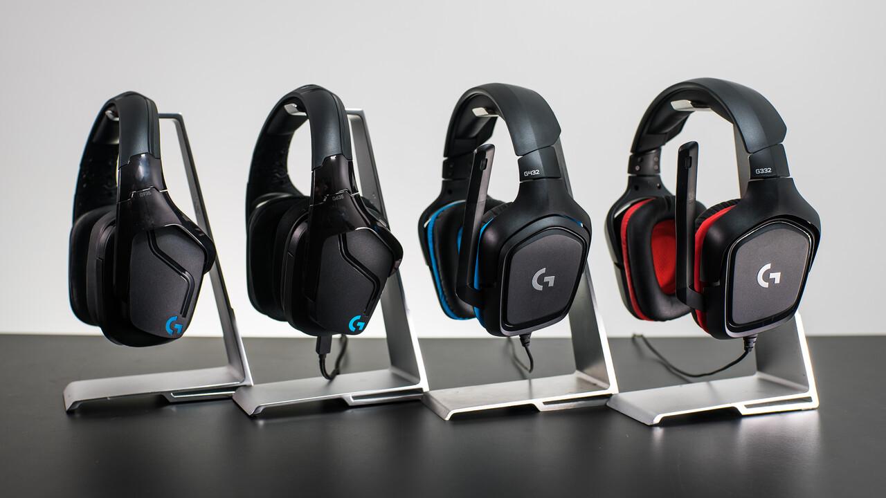 Logitech G935, G635, G432, G332: Vier neue Gaming-Headsets mit teils RGB-Beleuchtung