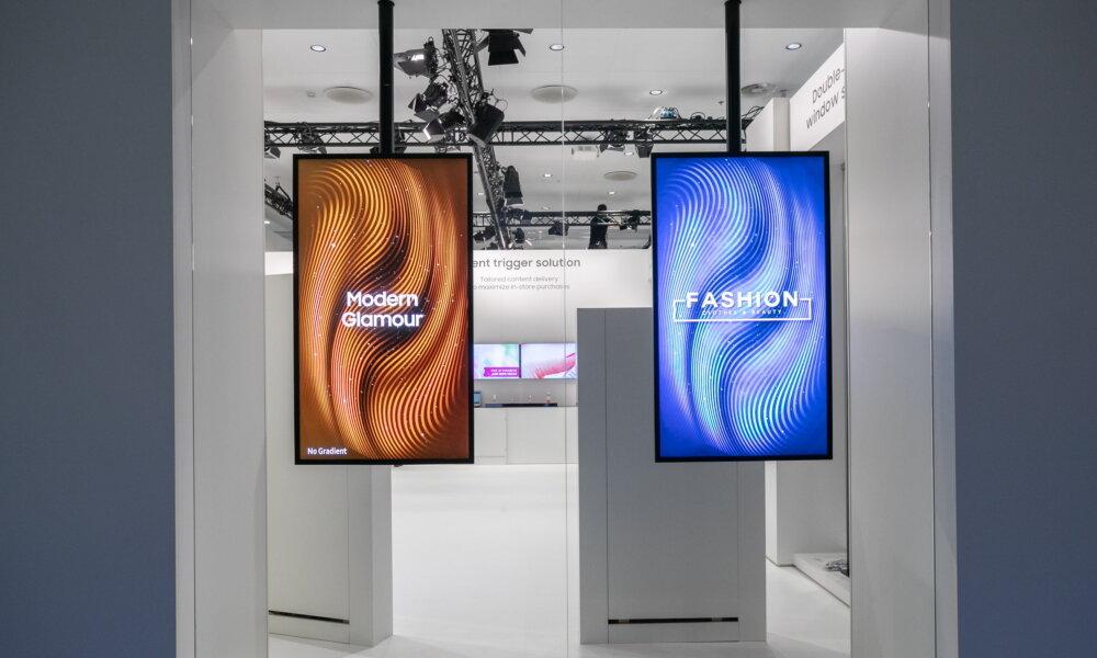 Samsung OMN und OMN-D (Dual) für Schaufenster