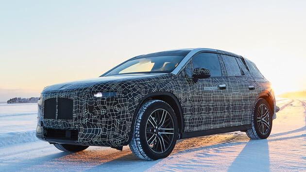 Autonomes Fahren: BMW erprobt iNEXT im Winterfahrtest in Schweden