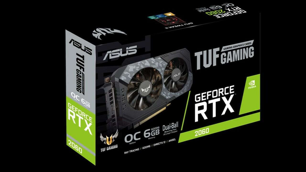 Asus RTX 2060: Erste TUF-Grafikkarten setzen auf kleinste Turing-GPU