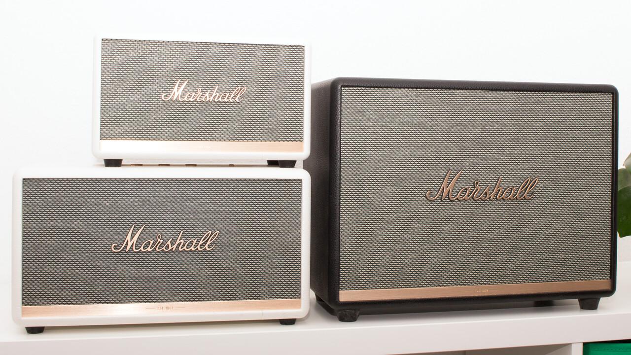 Marshall Bluetooth-Speaker im Test: Woburn II, Stanmore II und Acton II sind laut und zickig