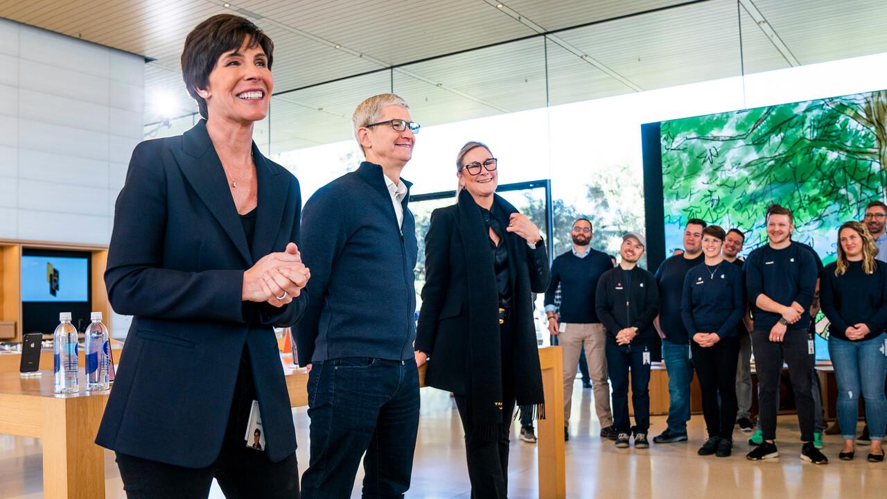 Apple Stores: Deirdre O'Brien löst Angela Ahrendts als Retail-Chefin ab