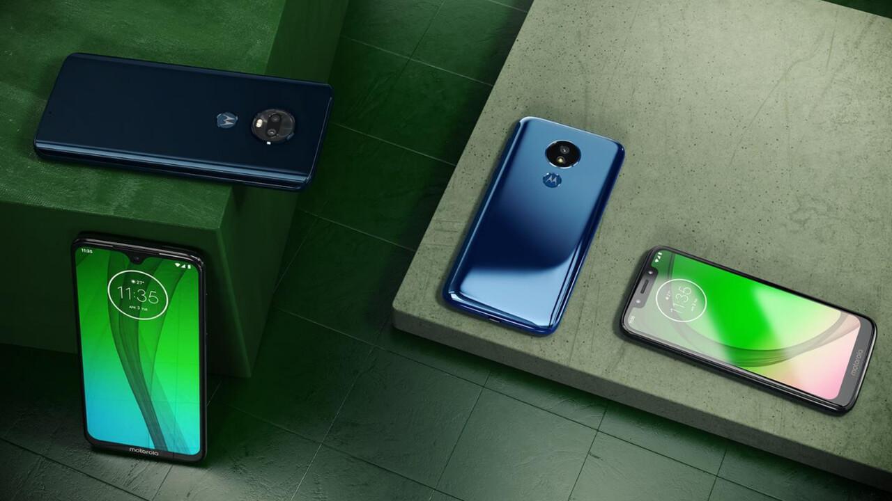 Motorola: Moto G7, G7Plus, G7Power und G7Play für die Mittelklasse