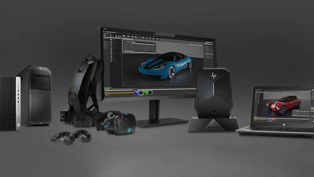 HPs Komplettpaket für VR in Zukunft mit Copper
