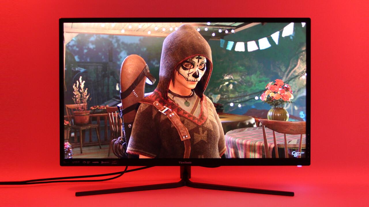 ViewSonic VX3211-4K im Test: Die UHD-Gaming-Alternative zum halben Preis