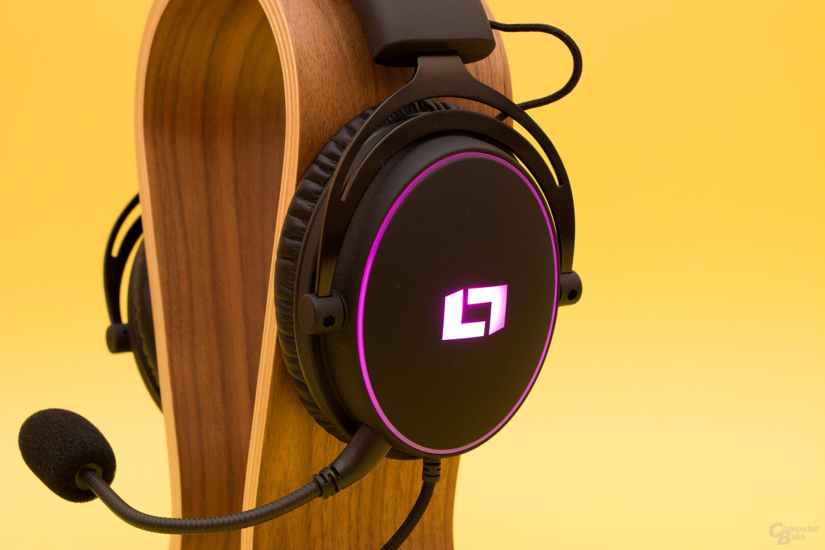 Farbspiele beim Lioncast LX55 USB