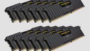 Corsair Vengeance LPX: 192-GB-RAM-Kits für Xeon W-3175X ab 1.650 Euro