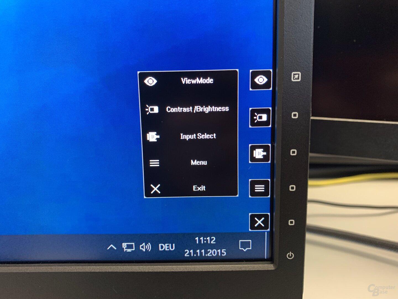 OSD des ViewSonic VX3211-4K