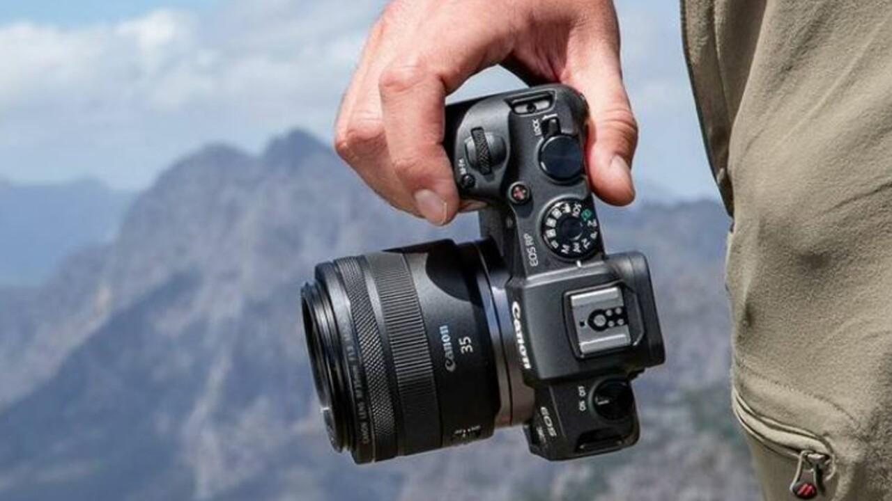 Canon EOS RP: Kompakterer DSLM-Einstieg für 1.500Euro