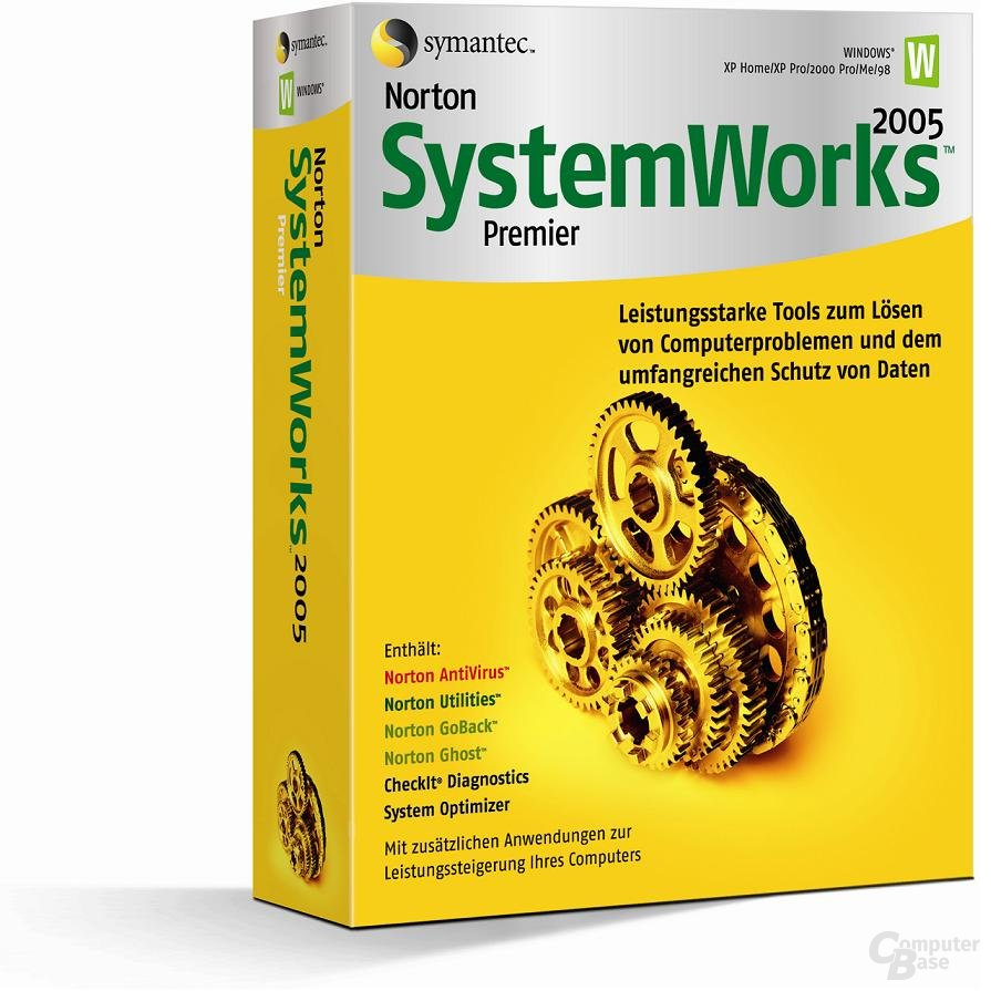 Norton Systemwork 2005 Premier