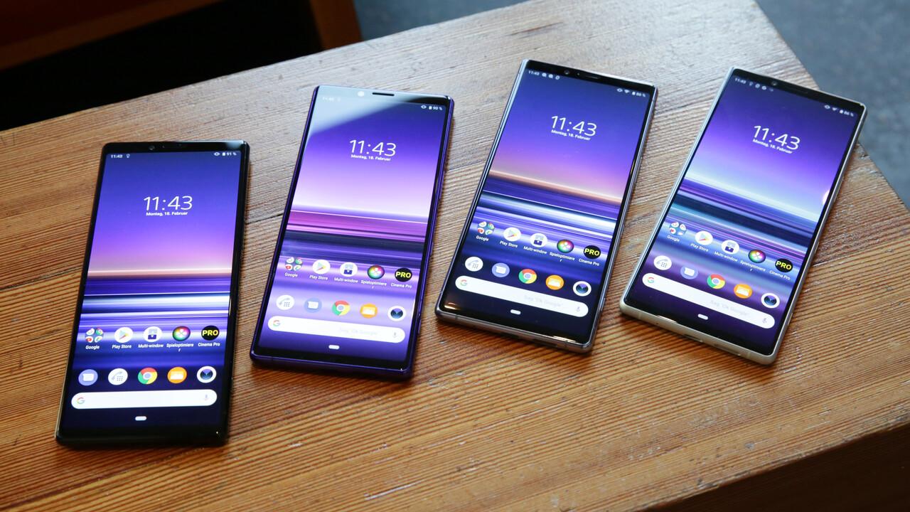Sony Xperia 1 Hands-On: 4K-OLED trifft auf Triple-Kamera und Snapdragon 855