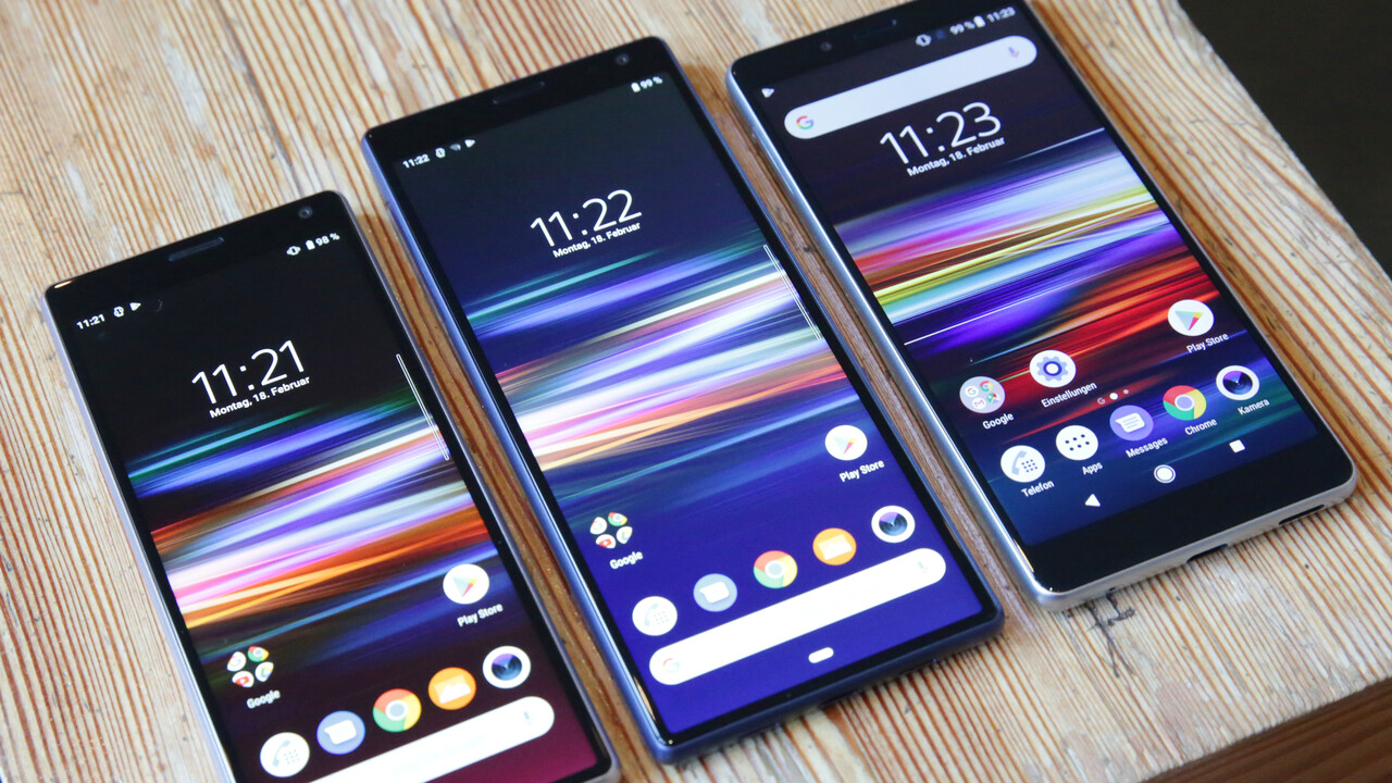 Sony: Xperia 10 (Plus) und Xperia L3 besetzen die Mittelklasse