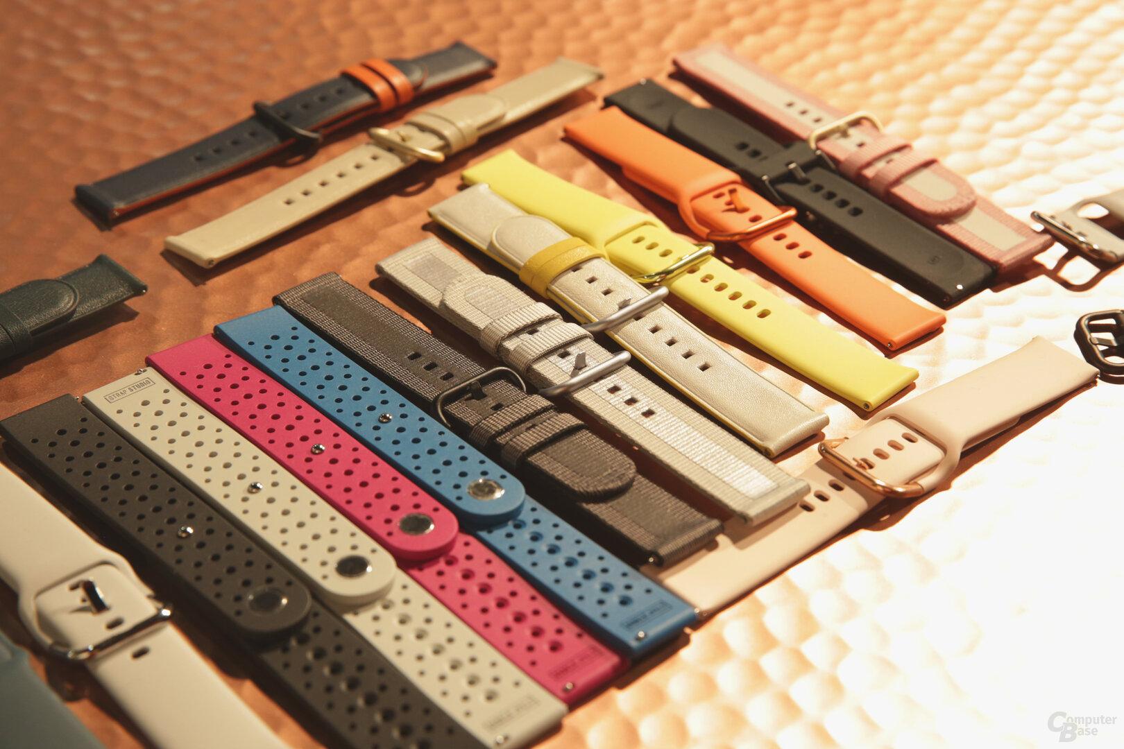 Armbänder für die Samsung Galaxy Watch Active