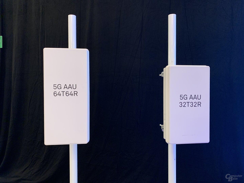 5G AAU mit 64T64R und 32T32R Massive MIMO