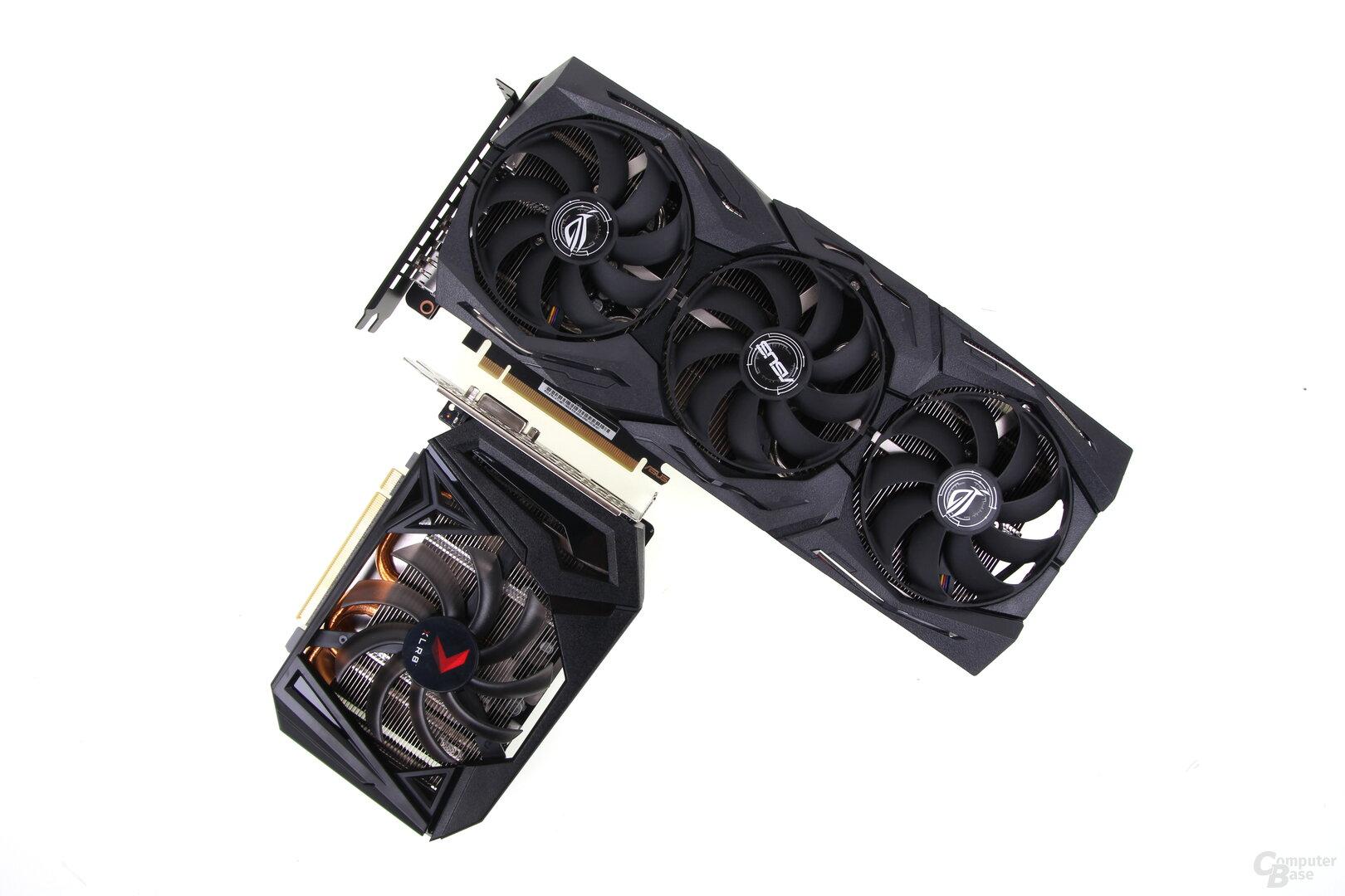 GeForce GTX 1660 Ti in groß und klein
