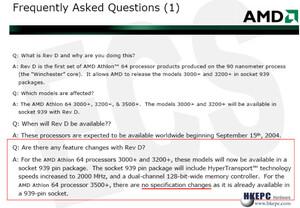 90 nm-Produkte ohne Neuerungen