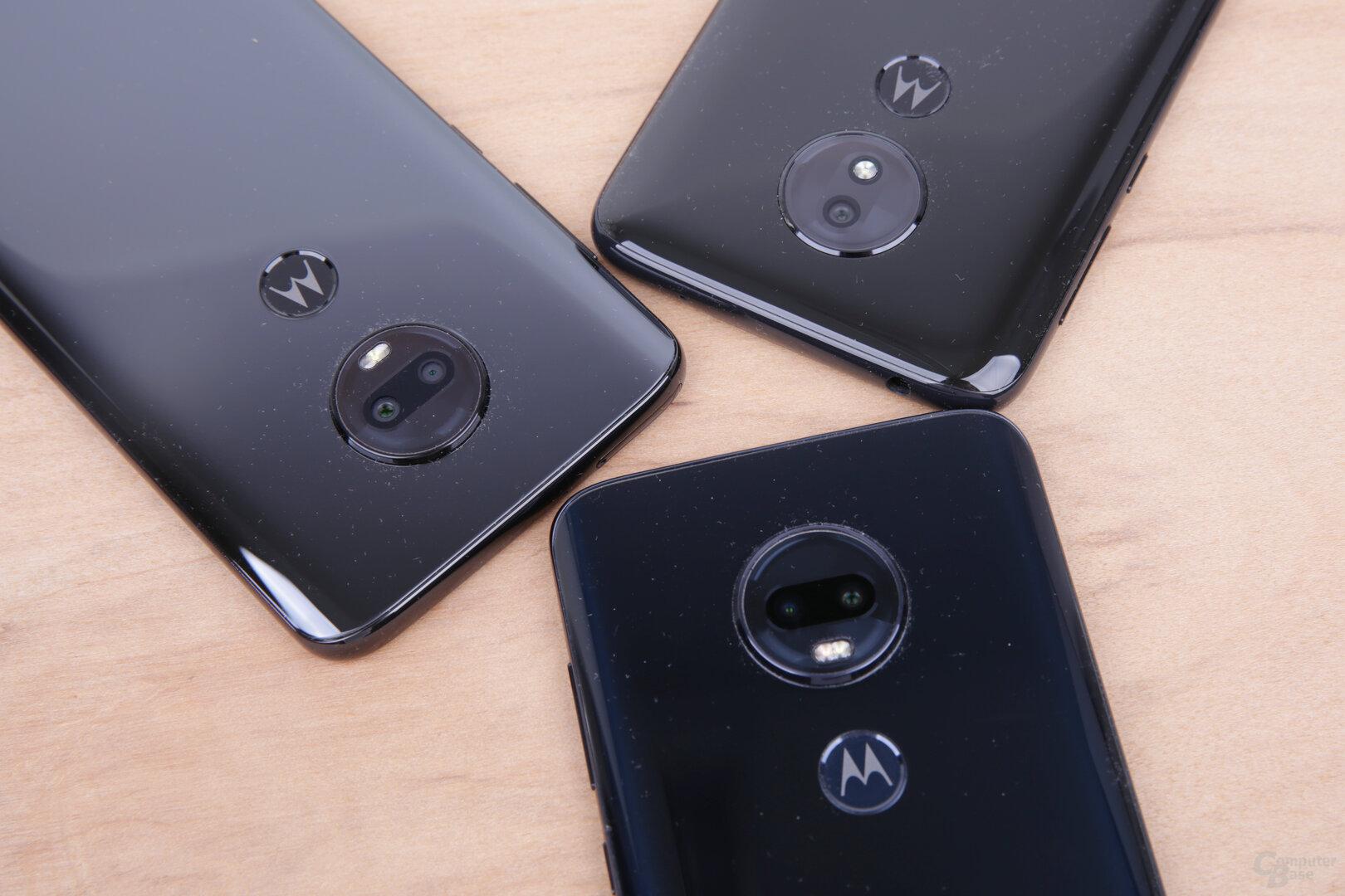 Nur das Moto G7 Power muss mit Single-Kamera auskommen