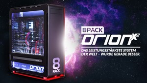 8Pack Orion X2: Extremes Dual-PC-System für 39.999,99 Euro