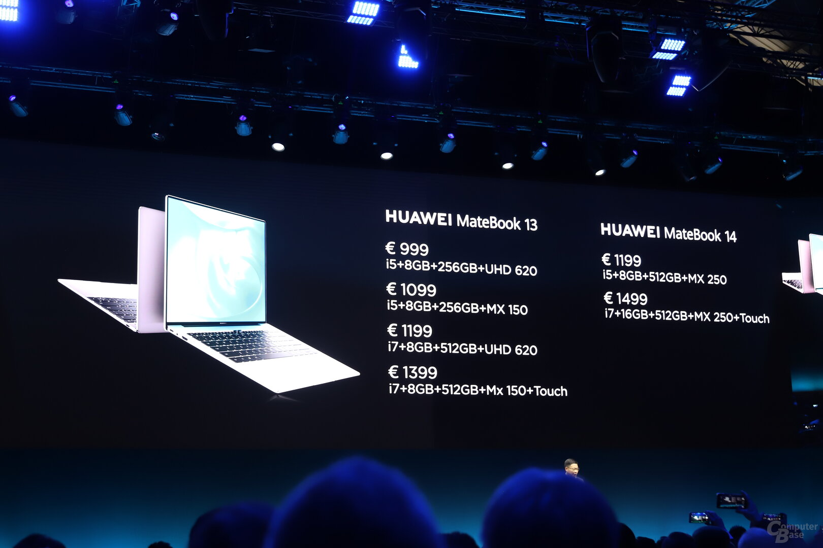 Die Preise für MateBook 13 und MateBook 14