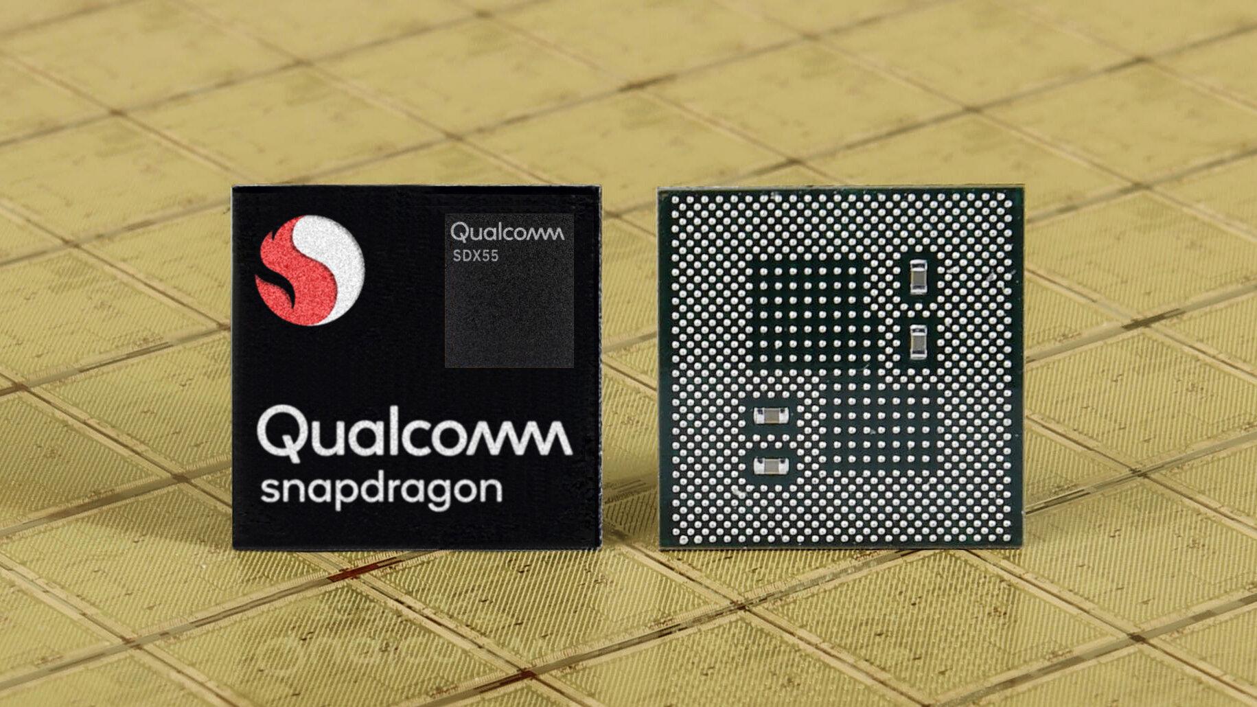Snapdragon SoC mit SDX55