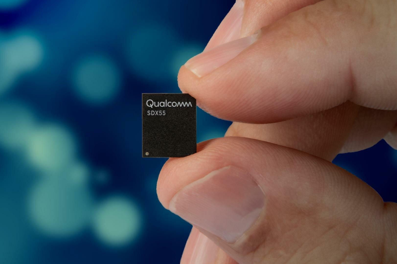 Das Snapdragon X55 will Qualcomm in ein zukünftiges SoC integrieren