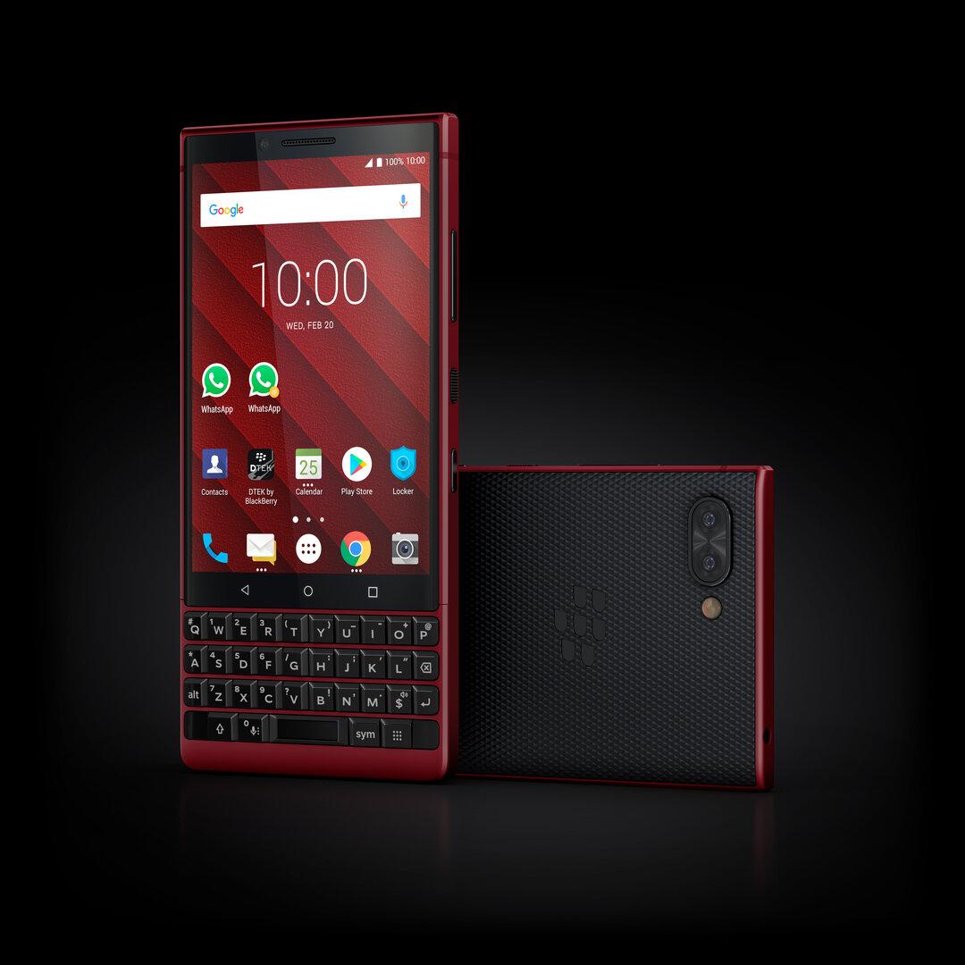 Das neue BlackBerry Key2 Red Edition