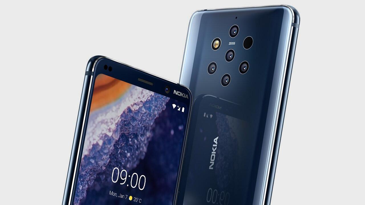 HMD Global: Nokia 9 PureView ist mit Penta-Kamera ausgestattet