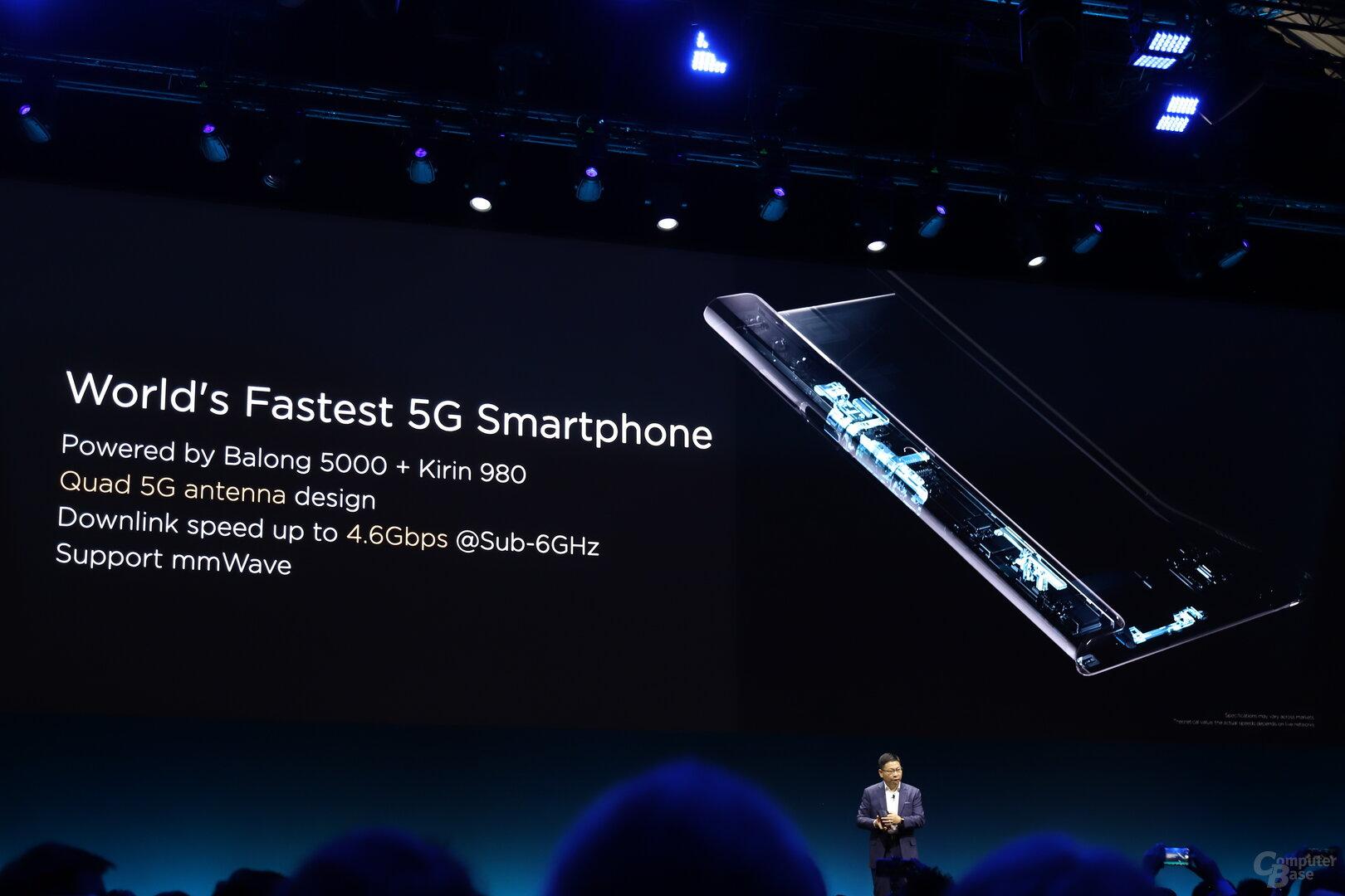 Das derzeit schnellste 5G-Smartphone