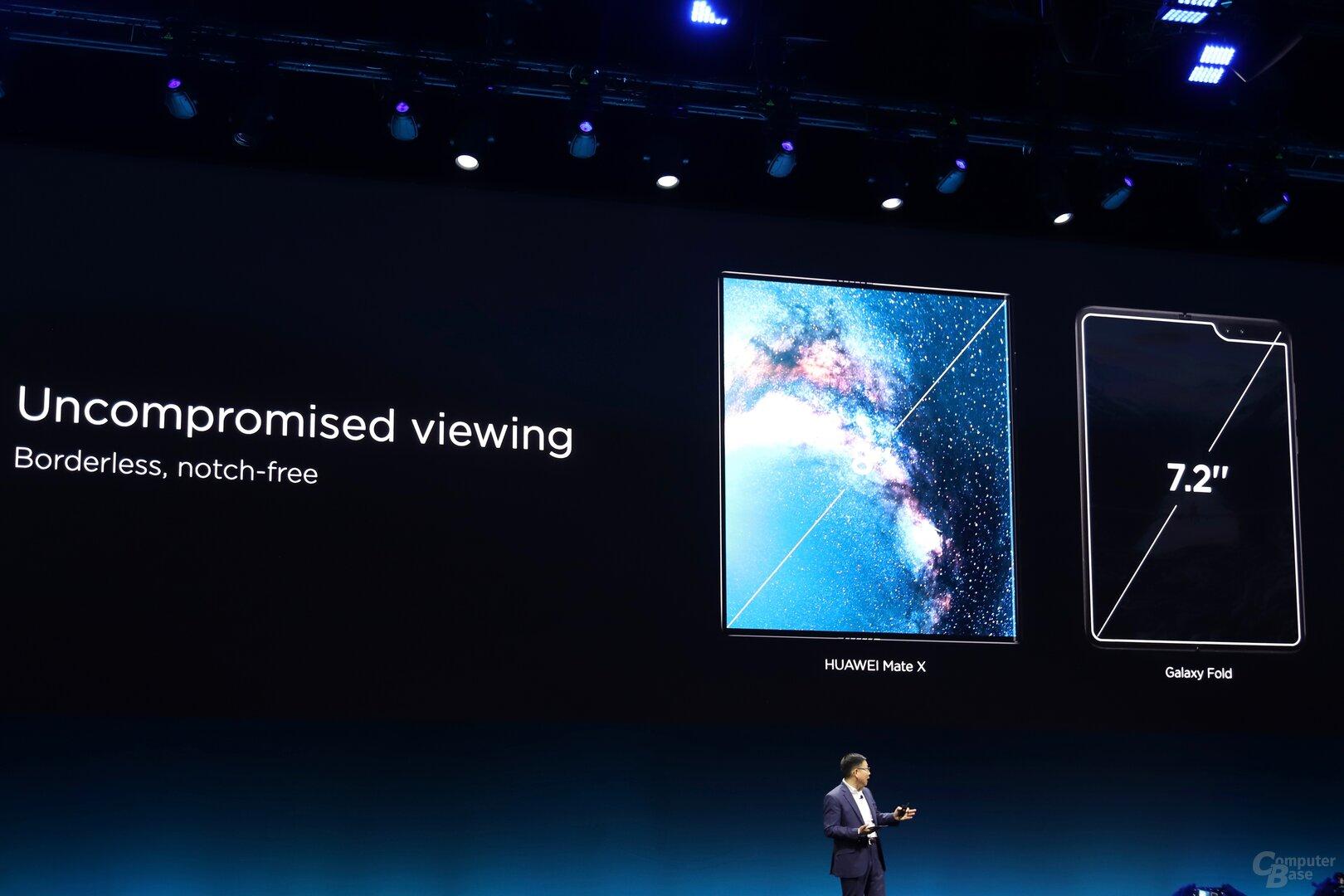 Huawei sieht sich Samsung deutlich überlegen