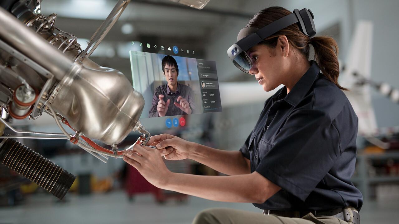 Microsoft HoloLens 2: Mehr Sichtfeld, mehr Komfort und Hand-Iris-Erkennung
