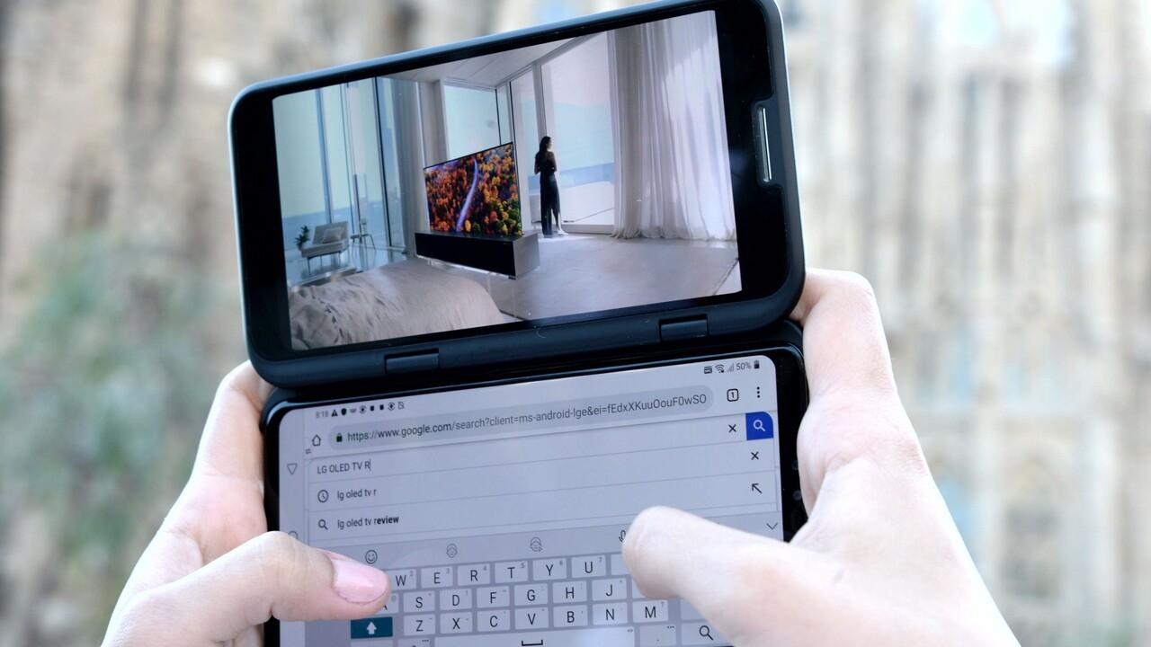 LG V50 ThinQ: Lieber zwei Bildschirme statt Falt-Display im Smartphone