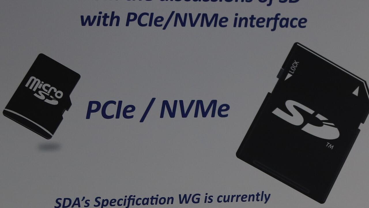 microSD Express: PCIe/NVMe mit 985MB/s auch für das kleine SD-Format