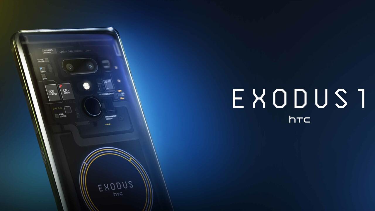 HTC Exodus 1: Blockchain-Smartphone bald für Echtgeld erhältlich