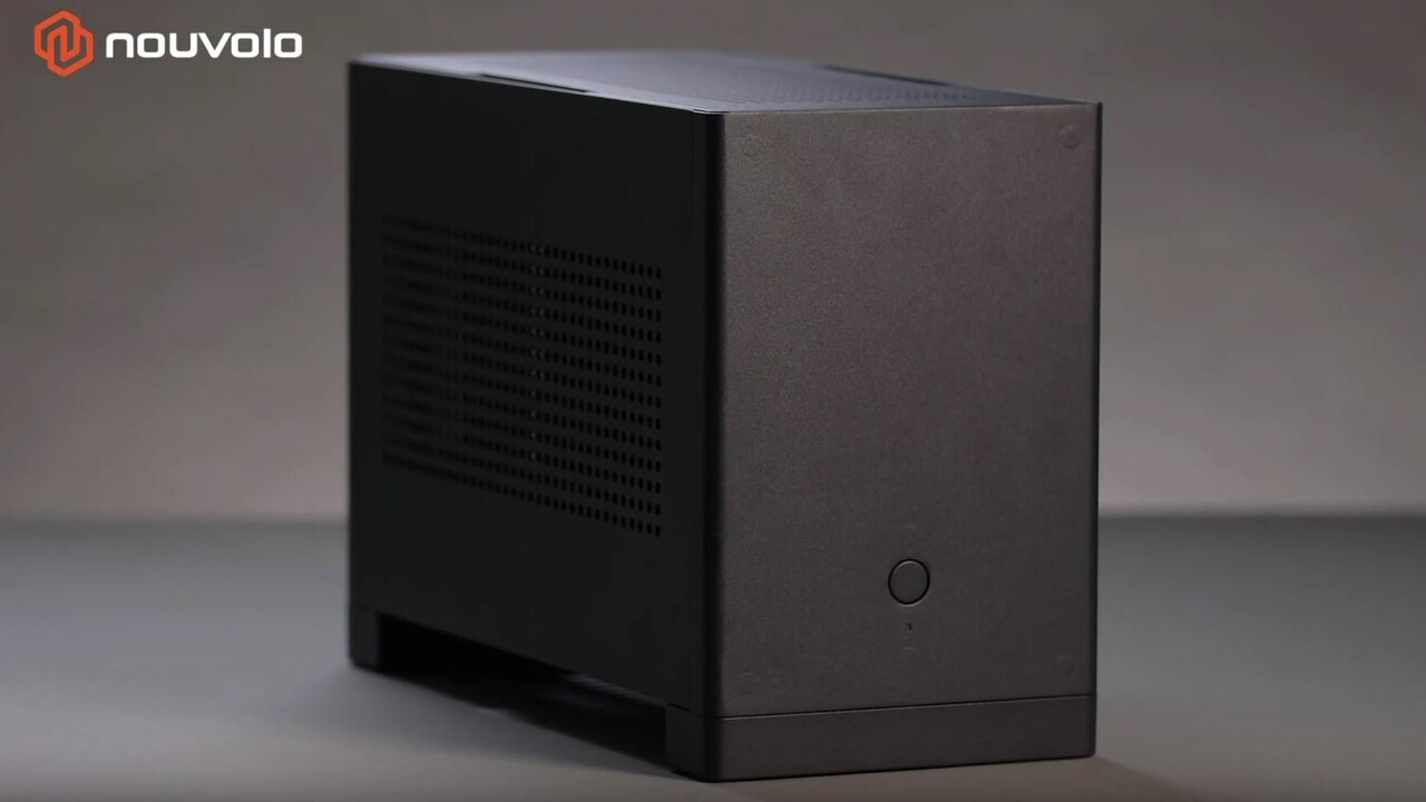 Nouvolo Steck: Modulares Gaming-ITX-Gehäuse will günstig sein