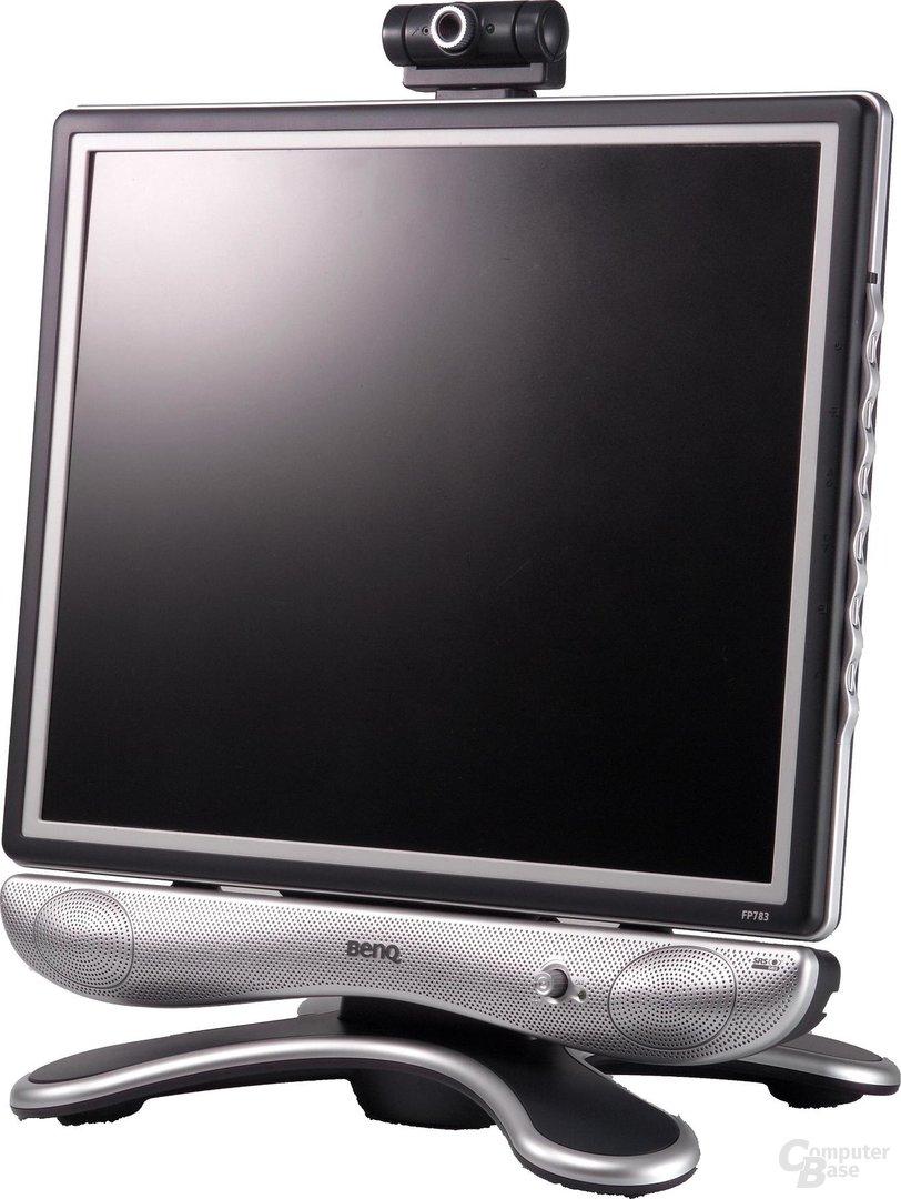 FP783-6 mit Lautsprecher und Webcam