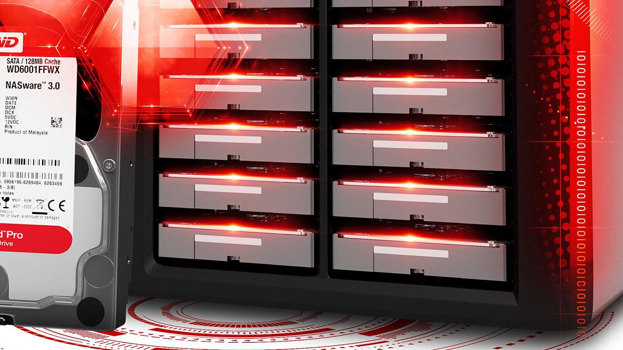 Western Digital: Vierfacher Cache für die WD Red mit 6 TB